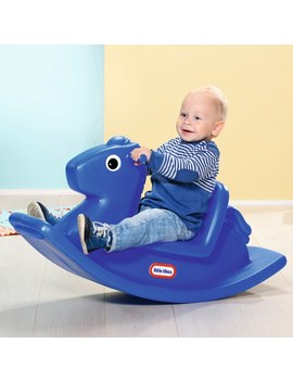 Little Tikes Rocking Horse Blue by Smyths