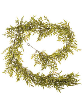 Green Smilax Leaf Garland by Hobby Lobby