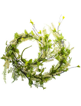 Berry & Mixed Leaves Garland by Hobby Lobby