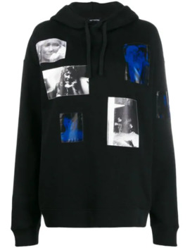Patch Photo Hoodie by Raf Simons