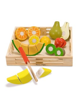 Melissa And Doug Wooden Cutting Fruit by Smyths