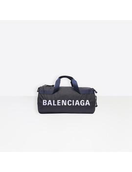 Wheel Gym Bag by Balenciaga