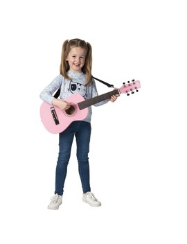 Pink 75cm Classical Guitar Pack by Smyths