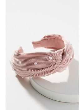Adalia Pearl Twist Headband by Anthropologie