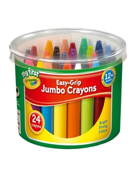 Crayola 24 Assorted Crayons by Smyths