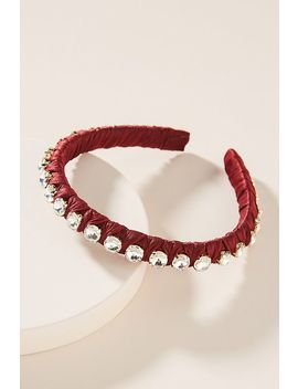 Rachel Embellished Headband by Anthropologie