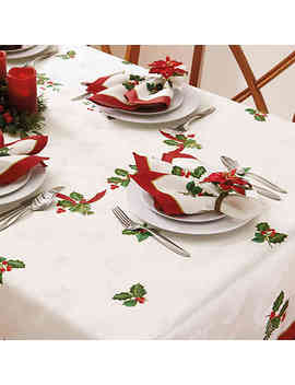 Holiday Ribbon Damask Napkins (Set Of 4) by Bed Bath And Beyond