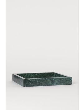Neliskulmainen Marmoritarjotin by H&M