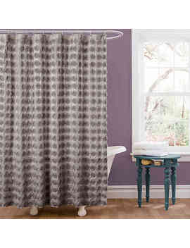 Emma Shower Curtain In Grey by Bed Bath And Beyond