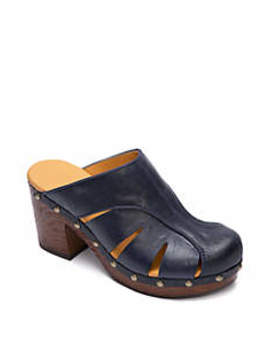 Neneh Wood Bottom Clogs by Korks