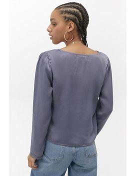 """Urban Outfitters – Langärmlige Bluse """"Annie"""" Mit Spitzenverzierungen by Urban Outfitters Shoppen"""
