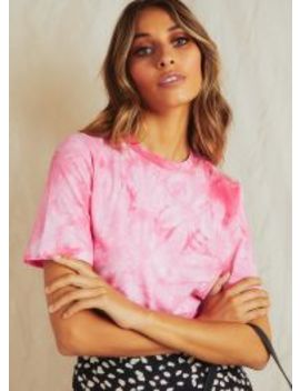 Mindless Top   Pink Tie Dye by Peppermayo
