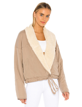 X Fp Movement Mix It Up Reversible Jacket In Neutral by Free People