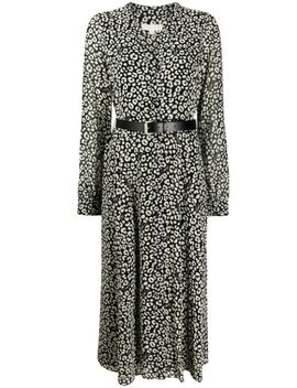 Leopard Print Shirt Dress by Michael Michael Kors