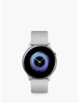 Samsung Galaxy Watch Active, With Heart Rate Monitoring, 40mm, Silver/Grey by Samsung