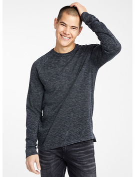 Organic Cotton Crew Neck Sweater by Le 31  Modern Men's Fashion