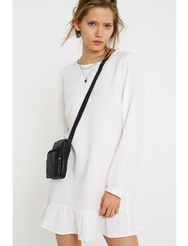 Uo Leather Sports Pouch Crossbody by Urban Outfitters