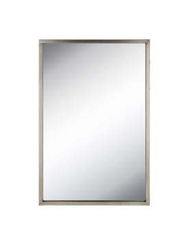 Silver Rectangle Metal Wall Mirror by Hobby Lobby