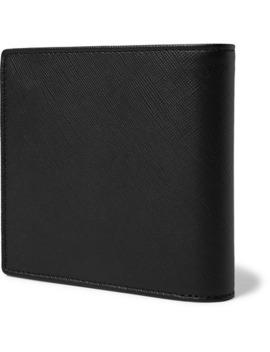 Cross Grain Leather Billfold Wallet by A.P.C.