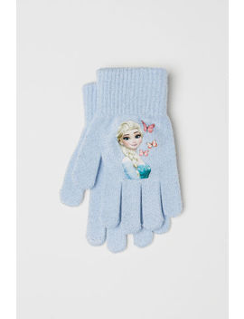 Gloves With A Motif by H&M