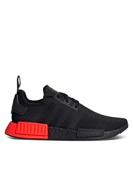 Men's Nmd R1 Sneakers In Red/Black by Adidas