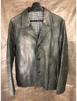 Final Price Cowhide Leather Blazer Jacket by Number (N)Ine  ×  Takahiromiyashita The Soloist.  ×