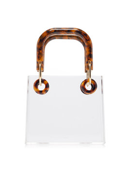 Geneva Two Tone Acrylic Tote by Cult Gaia