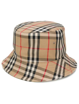 Vintage Check Bucket Hat by Burberry
