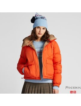 Women Jw Anderson Reversible Down Jacket (5) by Uniqlo