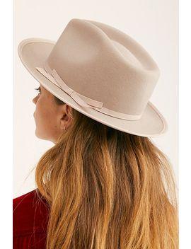 Beckham Cashmere Blend Felt Hat by Wyeth