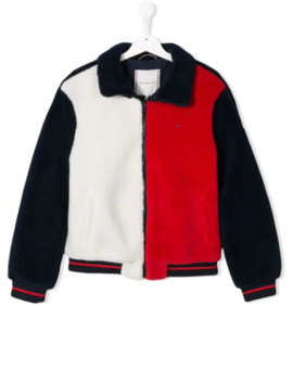 Teen Faux Shearling Zip Jacket by Tommy Hilfiger Junior