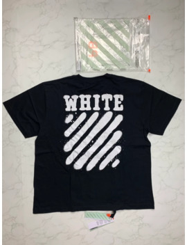 🔥🔥🔥[Sale] Off White Black Logo Tee by Off White  ×