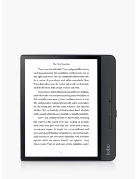 "Kobo Forma Waterproof E Reader, 8"" High Resolution Illuminated Touchscreen, Wi Fi by Kobo"