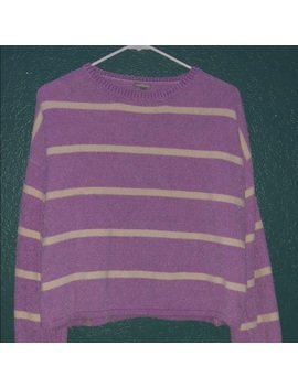 Charlotte Russe Striped Long Sleeve Sweater by Charlotte Russe