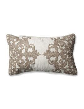 Pillow Perfect Bristol Birch Rectangular Throw Pillow by Pillow Perfect