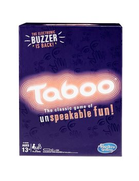 Taboo Classic Edition Game by Hasbro