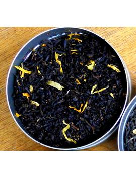 Mango Black Tea, Black Tea With Mango, Marigold And Fruit by Etsy