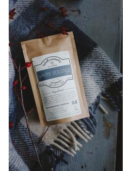 Winter Solstice Organic Tea   Orange Tea   Cranberry   Winterwoods Tea Company Loose Leaf Tea Blend by Etsy