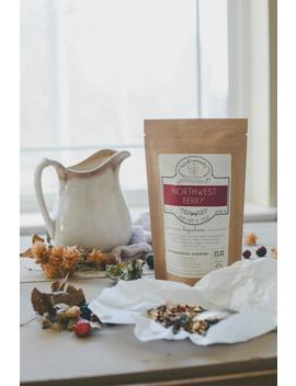 Northwest Berry Handcrafted Tea W/ Elderberries   Organic   Herbal   Winterwoods Tea Company Loose Leaf Blend by Etsy