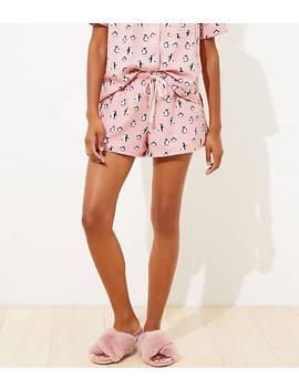 Penguin Pajama Shorts by Loft