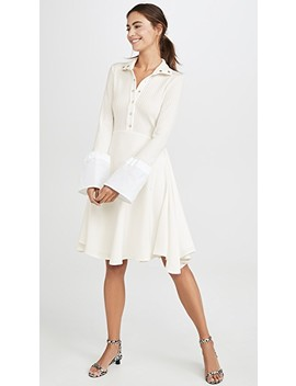 Concourse Tulip Sleeve Dress by Ellery