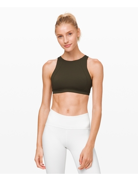 Free To Be Serene Bra High Neck Luxtreme™ by Lululemon