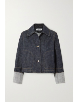 Cropped Denim Jacket by Loewe