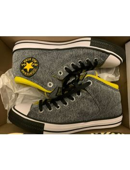 Converse Ctas High Street H 162420 F Almost Black/Vivid Men's Size 9 Yellow by Converse