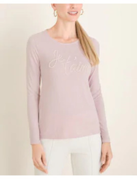 Je Taime Tee by Chico's