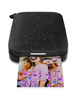 Hp Sprocket Portable Photo Printer   2nd Edition   Noir   1 As86 A by Hp