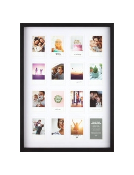 16 Opening Black Instax Collage Frame By Studio Décor® by Studio Decor