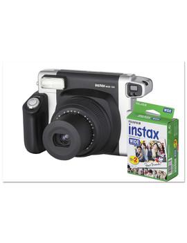Fujifilm Instax Wide 300 Camera Bundle, 16 Mp, Auto Focus, Black by Fujifilm