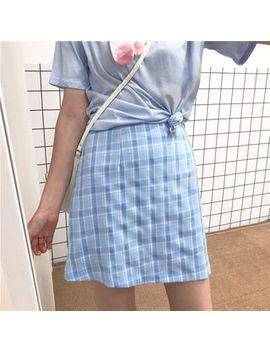 Kanami   Plaid Mini Skirt by Kanami