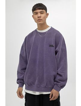Iets Frans… Purple Crew Neck Sweatshirt by Iets Frans...